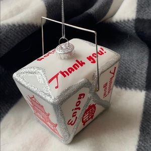 Chinese Takeout Christmas Ornament